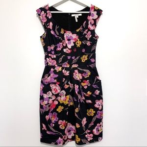 MaxandCleo Floral Dress with Pockets Size 4